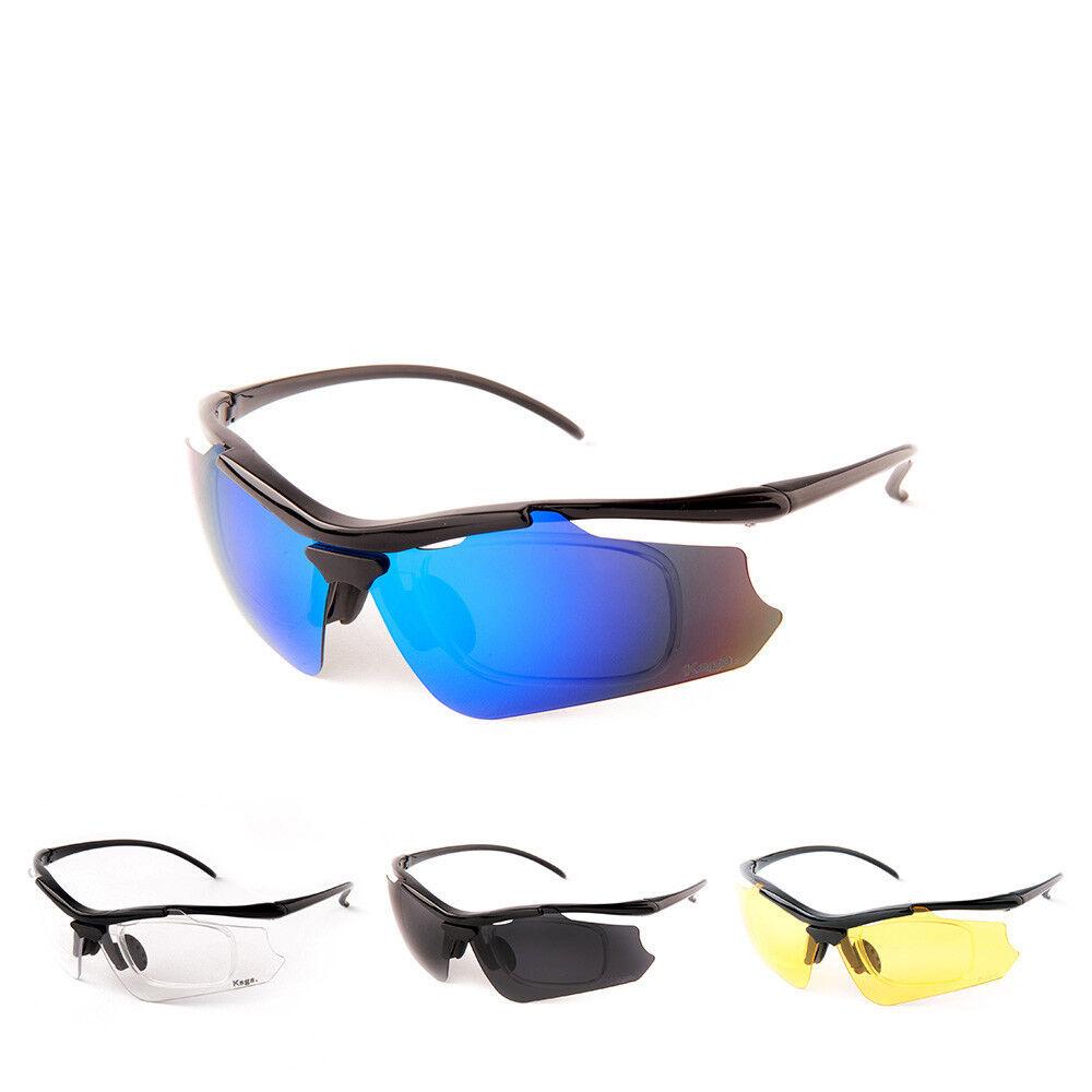 Kaga Ultra Light Prescription Sports Sunglasses Cycling, Running, Skiing