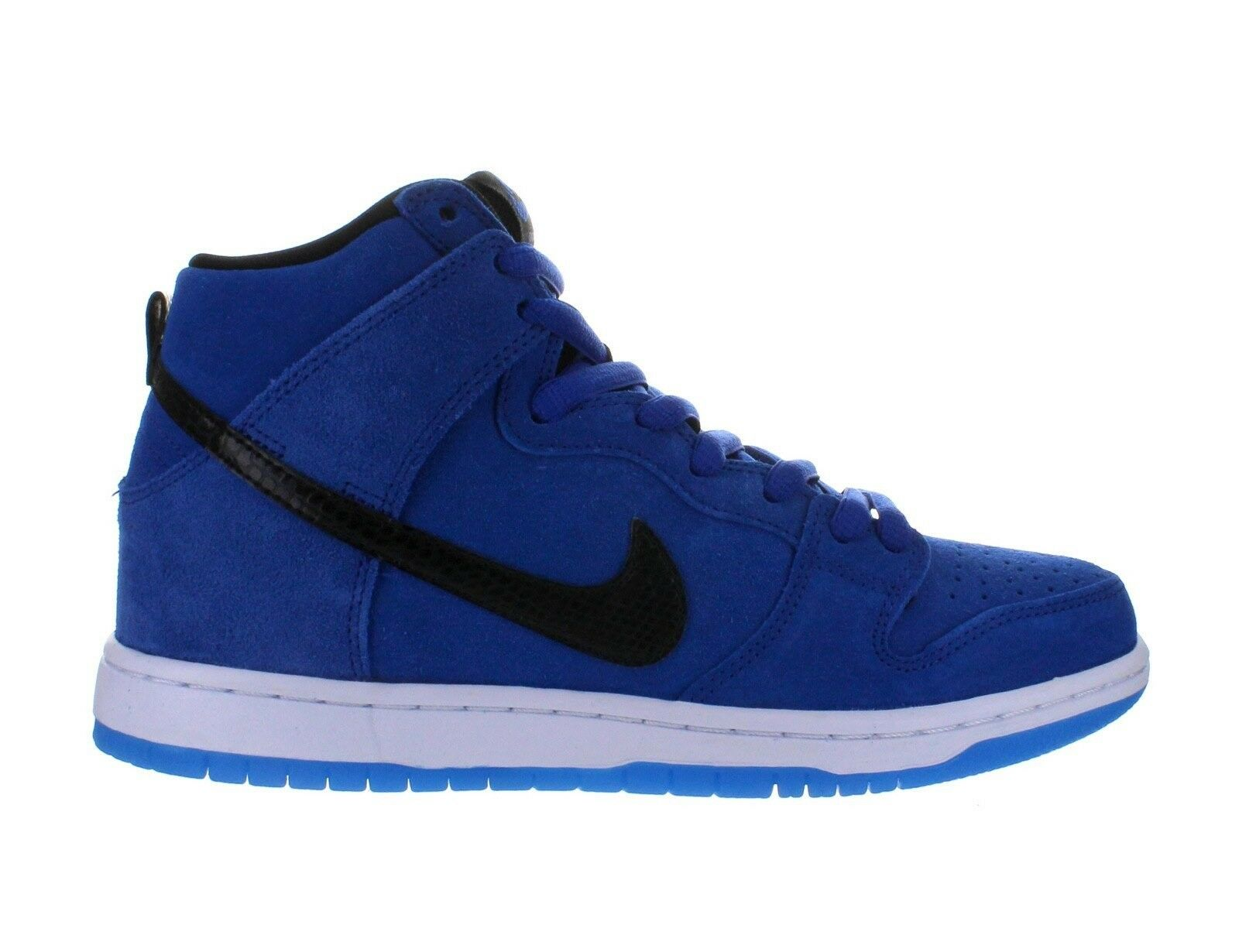 los angeles 71444 bea63 Nike DUNK HIGH PRO SB Game Royal Black White Discounted (440) Men s shoes