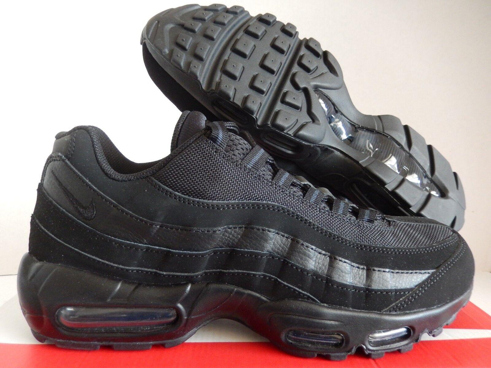Nike nero air max 95 triple nero Nike sz 12,5 - 609048-092] 73a1cc
