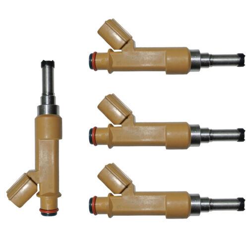 4pcs 23250-0T020 Flow Matched Fuel Injector For Toyota 1.8L Corolla Matrix scion