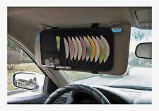Car Interior Visor Organiser - Autocare Storage Wallet CD DVD Holder Coins Gift