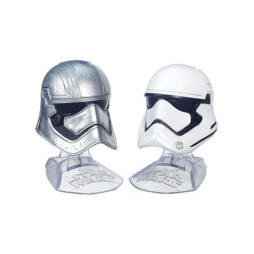 Hasbro Star Wars Black Series Captain Phasma /& Stormtrooper  Helm Set NEU