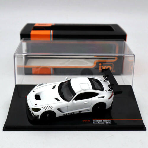 IXO 1//43 Mercedes-AMG GT3 Race Specs-White GTM121 Diecast Models Limited Edition
