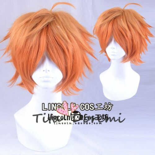 Halloween Wig Cosplay A3 Music grame brown mix short party fashion wigs Hair