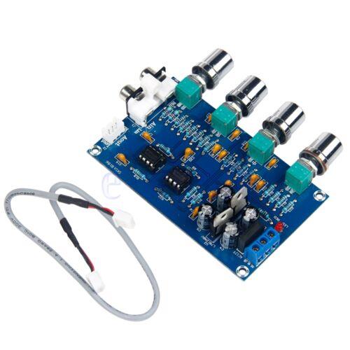 New NE5532 Stereo Pre-amp Preamplifier Tone Board Audio Amplifier Board 5W GW
