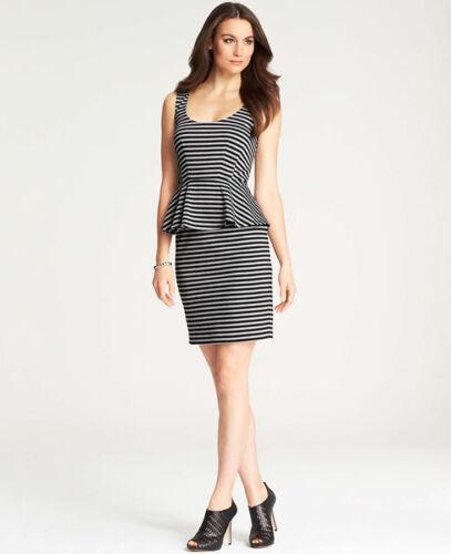 0 Kleid 317127 Taylor Asymmetrisches Gestreift Ann Größe Aufgesetzter xs – Btq88S