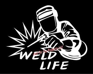 Weld Life Welder hood rod helmet flash light truck fun ...