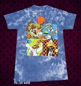 57eec6540715bd New Space Jam Tune Squad Looney Tunes Tie Dye Bugs Bunny Mens T ...