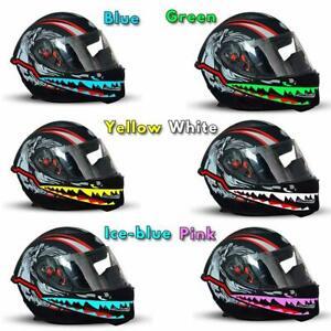 Motorcycle Helmet El Cold Light Helmet Light Strip Night Signal Luminous ModT6U5