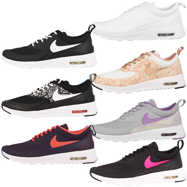 Zapatos promocionales para hombres y mujeres Nike Air Max Thea GS Schuhe Sport Freizeit Women Sneaker Damen Turnschuhe Print