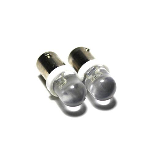 """MERCEDES W114 8 led blanc /""""commerce/"""" grand angle côté faisceau lumineux ampoules paire mise à niveau"""