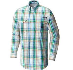 NEW-Men-039-s-Columbia-PFG-Super-Bonehead-Vented-Fishing-Shirt-Long-Sleeve