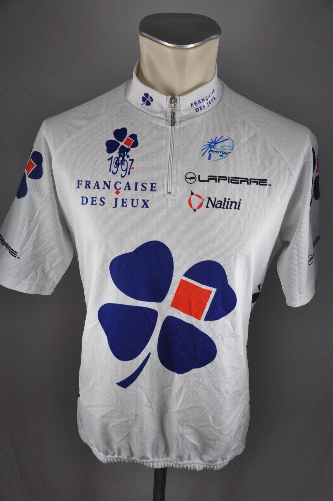 Nalini Francaise des jeux 97  Rad Trikot Gr. 6 L 56cm jersey Fahrrad cycling L5  sale