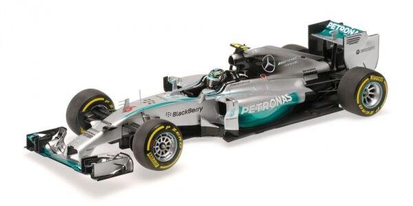 Mercedes AMG W05 Nico Rosberg Abu Dhabi GP F1 Fomrula 1  2014 1 18 Model