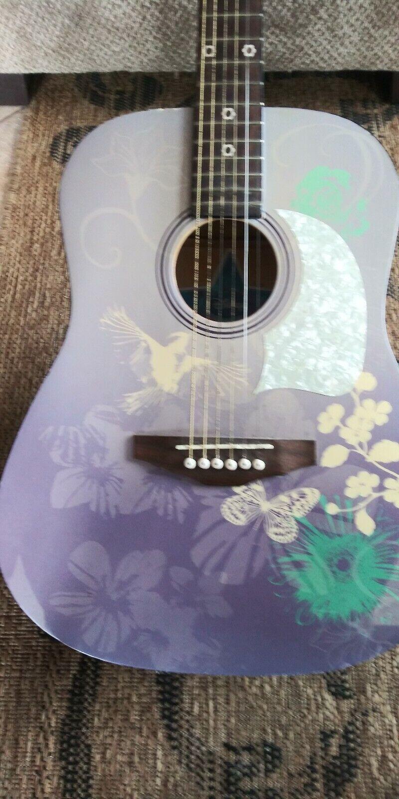 Washburn Hanna Montana Acustic Guitar