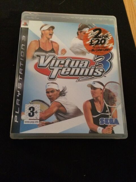 Virtua Tennis 3 For Playstation 3