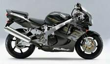 HONDA CBR900RR 1997 BLACK, GREY AND BLACK MET THREE COLOUR TOUCH UP KIT