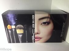 M.A.C MAC Cosmetics LOOK IN A BOX BASIC Brush Kit Set Limited Edition
