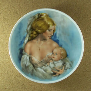 Young-Americans-MOTHER-039-S-DAY-1977-Plate-Leo-Jansen-Royal-Bayreuth-Mother-amp-Child