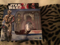 Star Wars The Force Awakens R2-d2 And C3po Figure Set