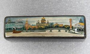 Russian-Kholui-Village-miniature-painting-lacquer-trinket-box