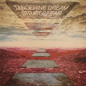 TANGERINE DREAM Stratosfear LP VIRGIN PZ 34427 rare OG 1st press NM-