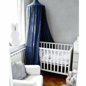 US Kids Baby Bedding Round Dome Bed Canopy Netting Bedcover Mosquito Net Curtain