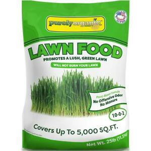 PURELY-ORGANIC-25-lb-Lawn-Food-All-Purpose-Fertilizer-Plant-Based-Slow-Release