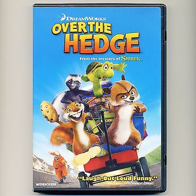 Over The Hedge 2006 Pg Family Comedy Animated Movie Dvd B Willis Carell Nolte Ebay