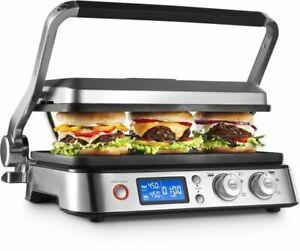 De'Longhi CGH1012D 2000W Electric Grill - Silver