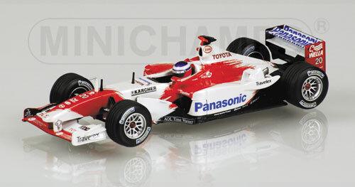 Panasonic Toyota Racing TF103 - O. Panis 2003 1 43 Model 400030020 MINICHAMPS
