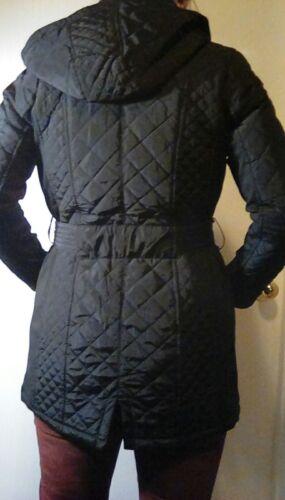 Coat 719621257990 Trench Hætte Størrelse Collection Kvinders Aftagelig Sebby Medium Ny Quiltet q0vawx
