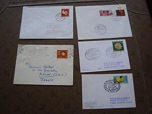 Germany-5-Envelopes-cy87-Germany