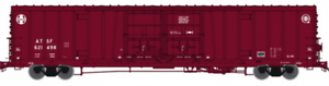 Atlas HO Scale 20004926 Santa Fe BX-166 Box Car Late Q Logo