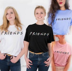 Hot-Friends-T-Shirt-TV-Show-Inspired-Women-Fashion-Tee-Tops-Tumblr-t-shirts