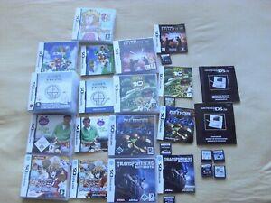 8-Nintendo-DS-Spiele-The-Legend-of-Zelda-Phantom-Hourglass-und-7-Huellen