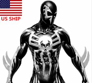 US-2099-New-Era-Ultimate-Spiderman-Halloween-Black-Cosplay-Cool-Zentai-Costume