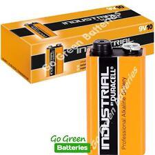 20 x Duracell 9V PP3 Industrial Procell Batteries, Smoke Alarm, LR22 BLOC MN1604