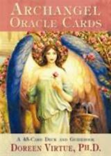 Archangel Oracle Cards by Doreen Virtue, deck and intrructions