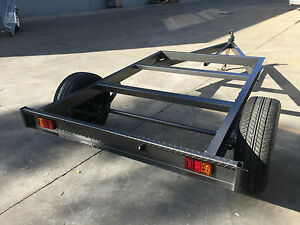 Brand-new-Tray-top-Trailer-chassis-SUIT-8X6FT-TRAY-BRAKED-HEAVY-DUTY-1450KG-ATM