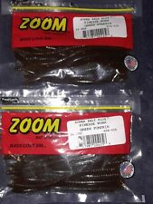 ZOOM Finesse Worm 2 PCKS 20cnt #004-025 Green Pumpkin