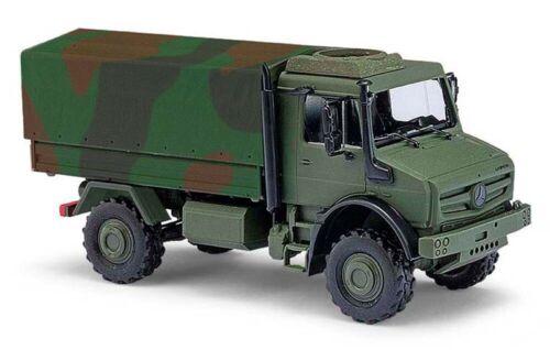 BUSCH Modelle 1:87//H0 Mercedes Unimog U5023 Militär in Tarnfarben #51021