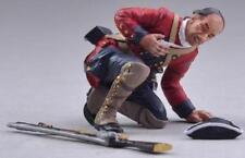 THOMAS GUNN FRENCH & INDIAN WAR FIW010A BRITISH WOUNDED BROWN GAITERS MIB
