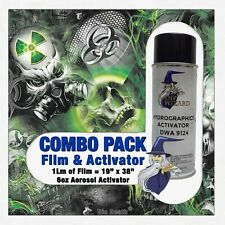 Hydrographic Film Activator Bio Death Zombies Hydro Dip Dipping Wizard Skulls