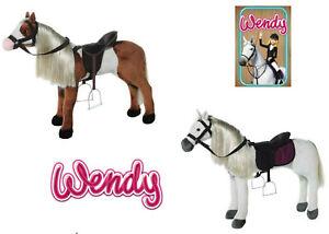 WENDY-Kinder-Pferd-Reitpferd-Riesen-Pluesch-Pferd-Pony-Sound-L-oder-XL-Gross