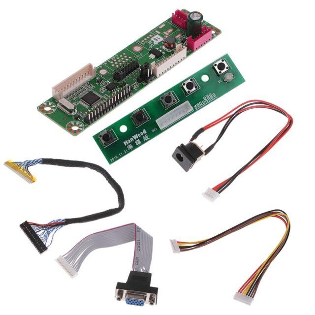 Kit for QD141X1LH12 TV+HDMI+VGA+USB LCD LED screen Controller Driver Board
