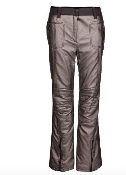 Sportalm Kitzbuehel Womens Ski  Pants Clash Lumina gold Grey Size XL 42 NEW  cheap in high quality