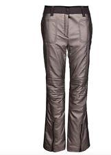 Sportalm Kitzbühel Donna Pantaloni Da Sci Clash Lumina Oro Grigio Dimensione