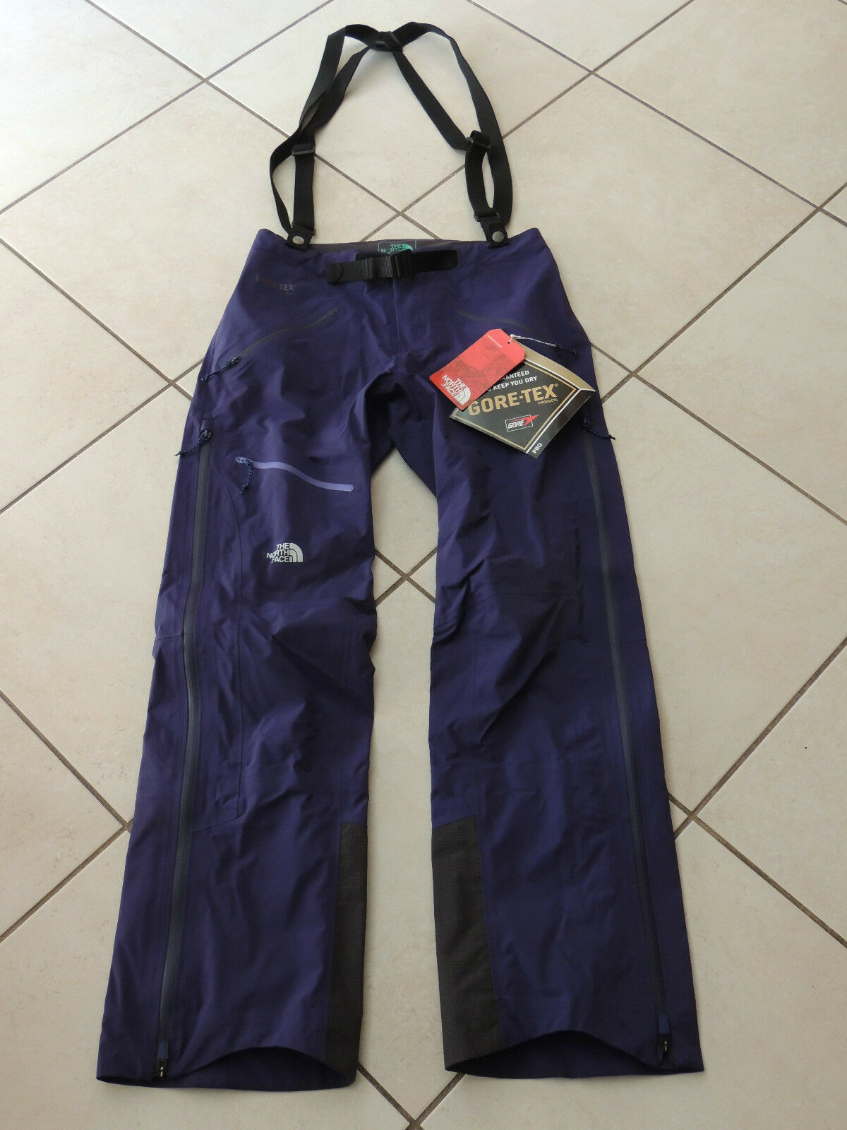 NORTH FACE GARNET PURPLE POINT FIVE NG WATER-PROOF SNOW  SPORT PANTS, SZ M NWT  creative products