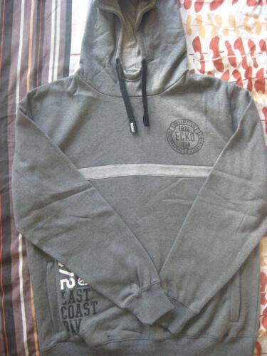 Hooded met 40 New Charcoal Sweatshirt Hoodie Heren Grey 40 Ecko Men's sweatshirt grijs Ecko Charcoal capuchon Nieuw 42 42 Hoodie qxfZX4wFf